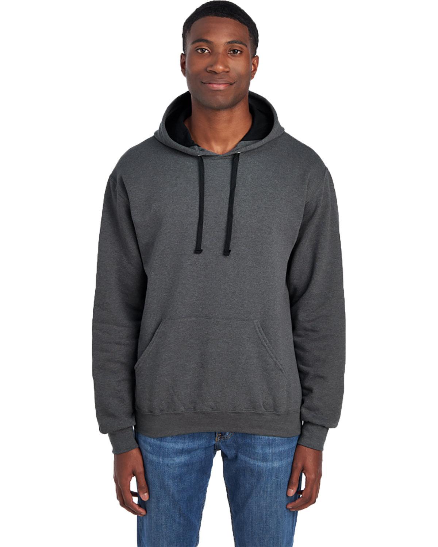 Fruit of the Loom Adult SofSpun® Hooded Sweatshirt CHARCOAL HEATHER