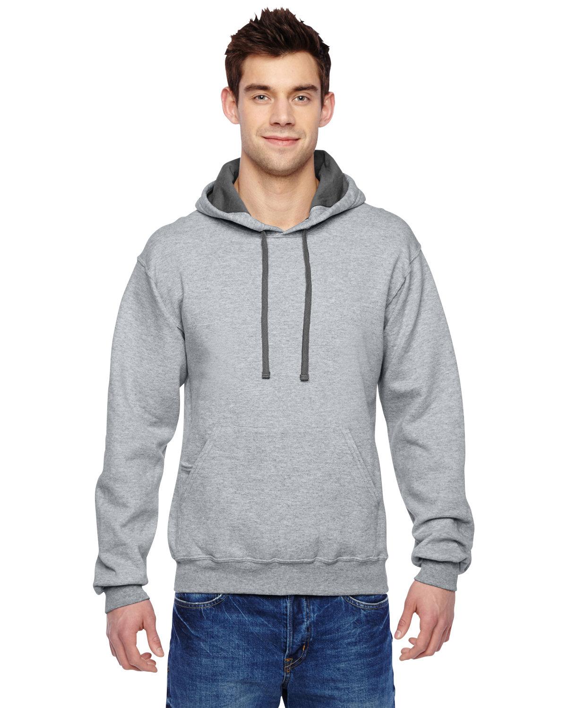 Fruit of the Loom Adult SofSpun® Hooded Sweatshirt ATHLETIC HEATHER