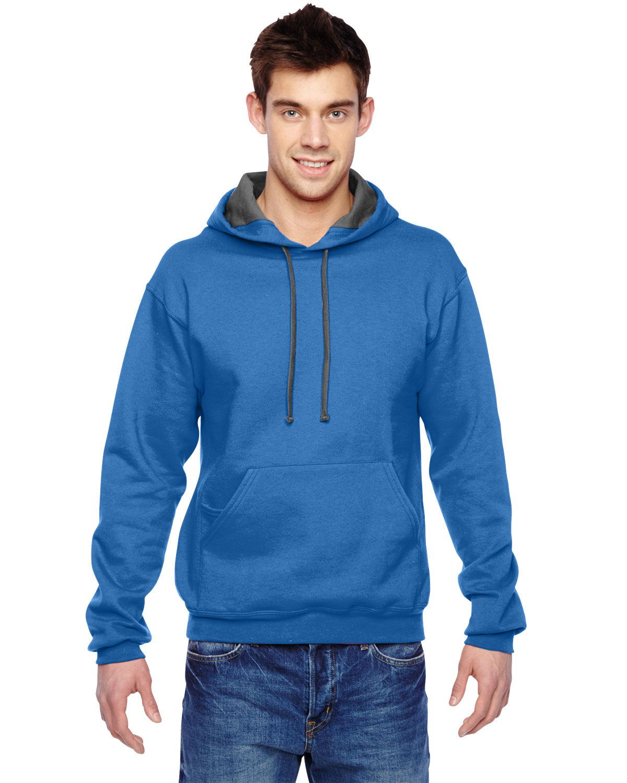 Fruit of the Loom Adult SofSpun® Hooded Sweatshirt ROYAL