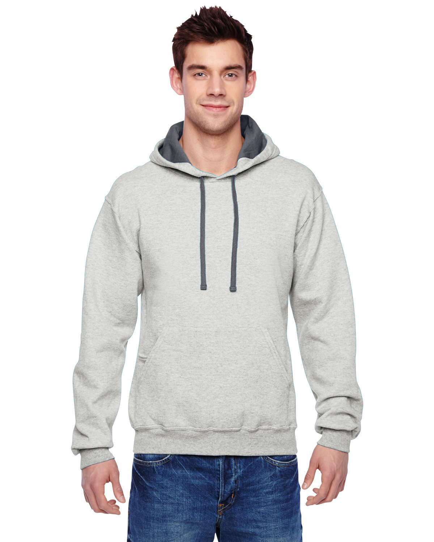Fruit of the Loom Adult SofSpun® Hooded Sweatshirt OATMEAL HEATHER