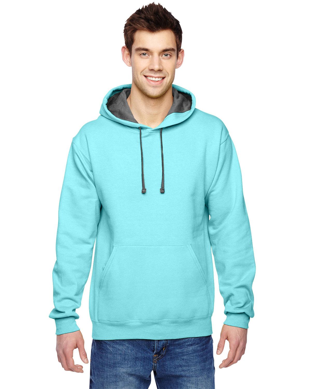 Fruit of the Loom Adult SofSpun® Hooded Sweatshirt SCUBA BLUE