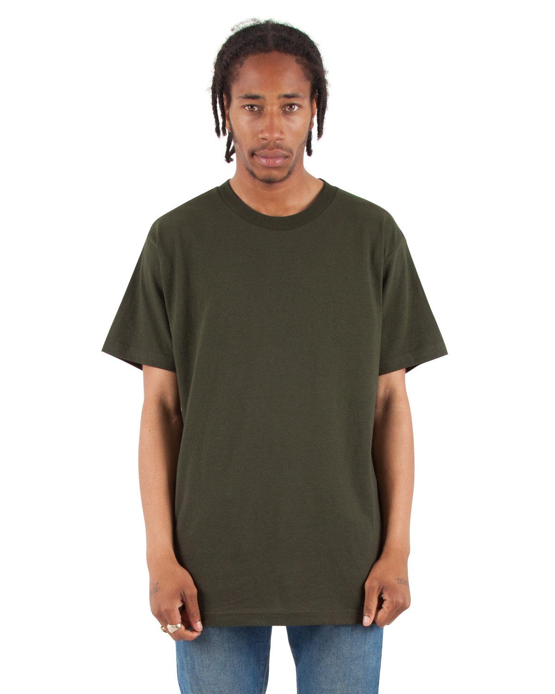 Shaka Wear Drop Ship Adult 6 oz., Active Short-Sleeve Crewneck T-Shirt HUNTER GREEN