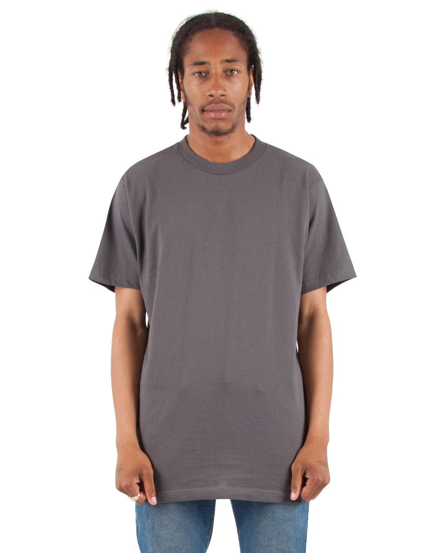 Shaka Wear Drop Ship Adult 6 oz., Active Short-Sleeve Crewneck T-Shirt DARK GREY