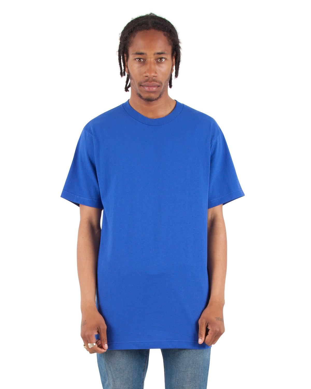 Shaka Wear Drop Ship Adult 6 oz., Active Short-Sleeve Crewneck T-Shirt ROYAL