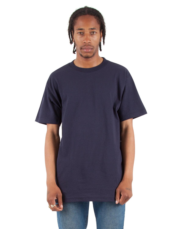 Shaka Wear Drop Ship Adult 6 oz., Active Short-Sleeve Crewneck T-Shirt NAVY