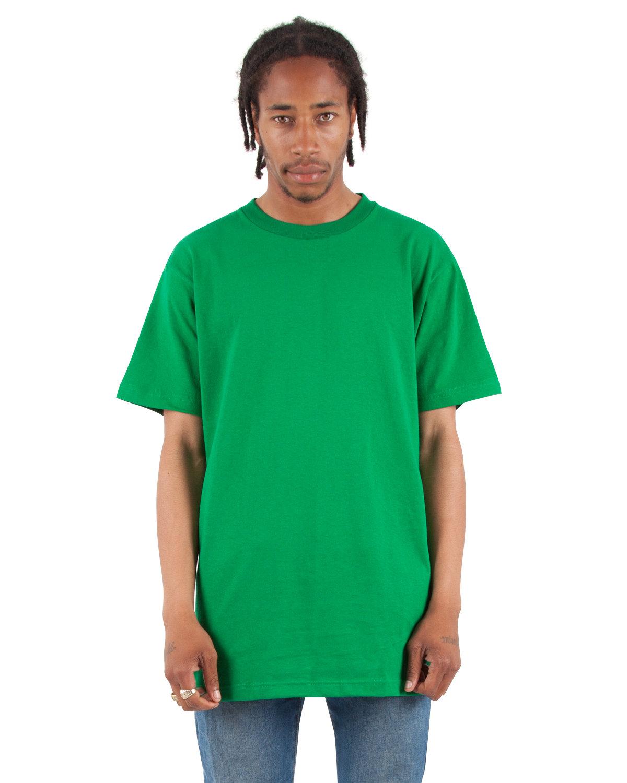 Shaka Wear Drop Ship Adult 6 oz., Active Short-Sleeve Crewneck T-Shirt KELLY GREEN
