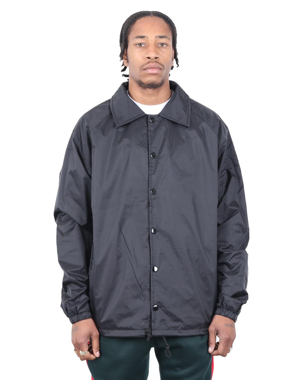 Shaka Wear Drop Ship Coaches Jacket BLACK