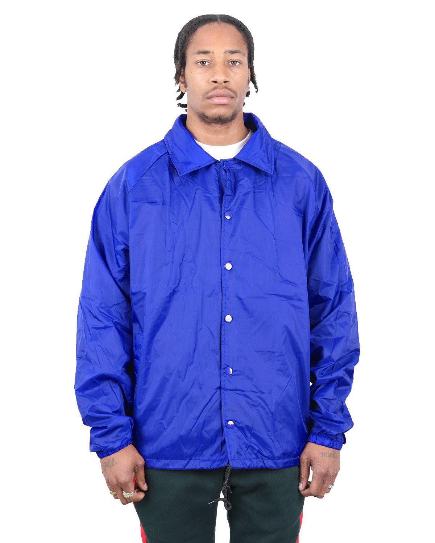 Shaka Wear Drop Ship Coaches Jacket ROYAL