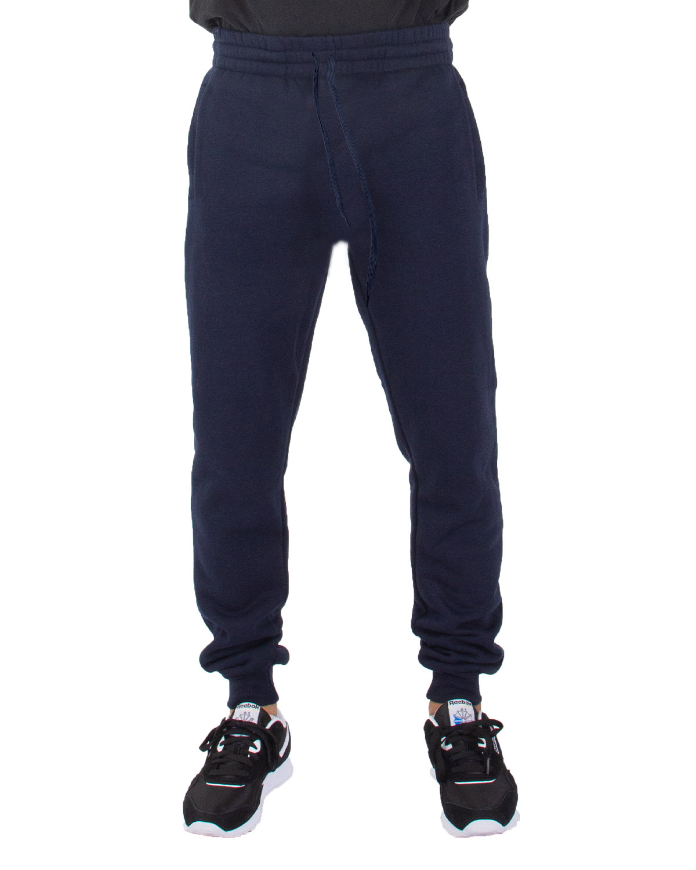 Shaka Wear Drop Ship Men's Fleece Jogger Pants NAVY