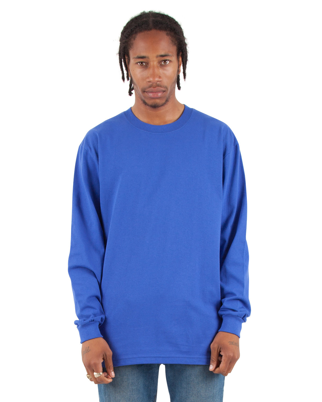Shaka Wear Drop Ship Adult 7.5 oz., Max Heavyweight Long-Sleeve T-Shirt ROYAL