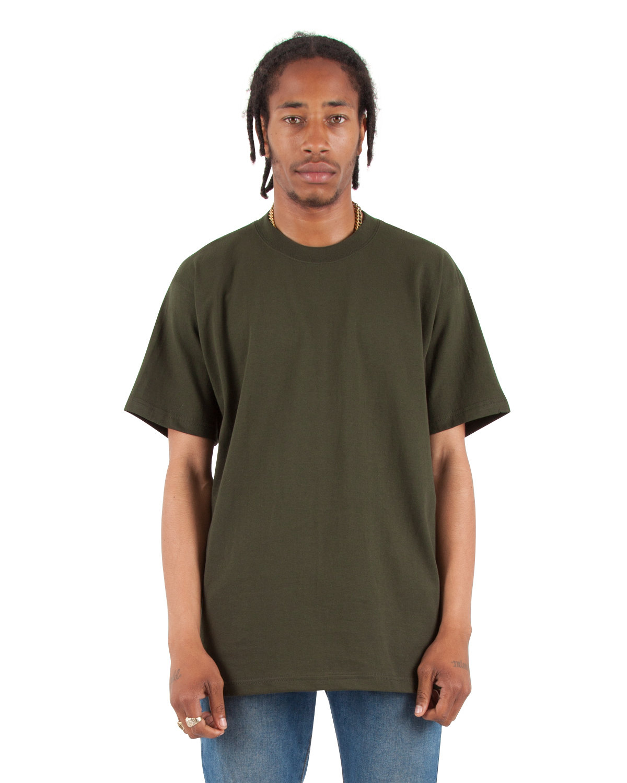 Shaka Wear Drop Ship Adult 7.5 oz., Max Heavyweight T-Shirt HUNTER GREEN