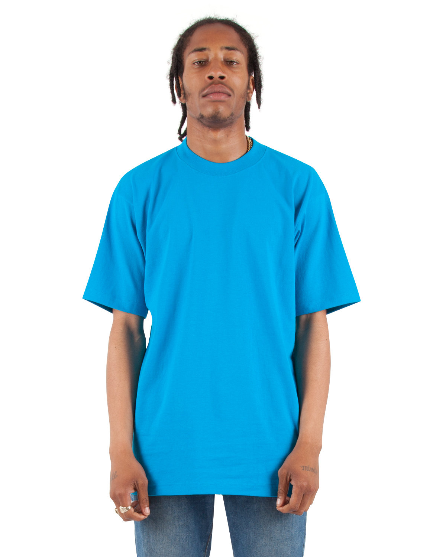 Shaka Wear Drop Ship Adult 7.5 oz., Max Heavyweight T-Shirt TURQUOISE