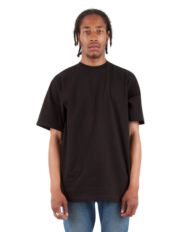 Shaka Wear Drop Ship Adult 7.5 oz., Max Heavyweight T-Shirt BLACK
