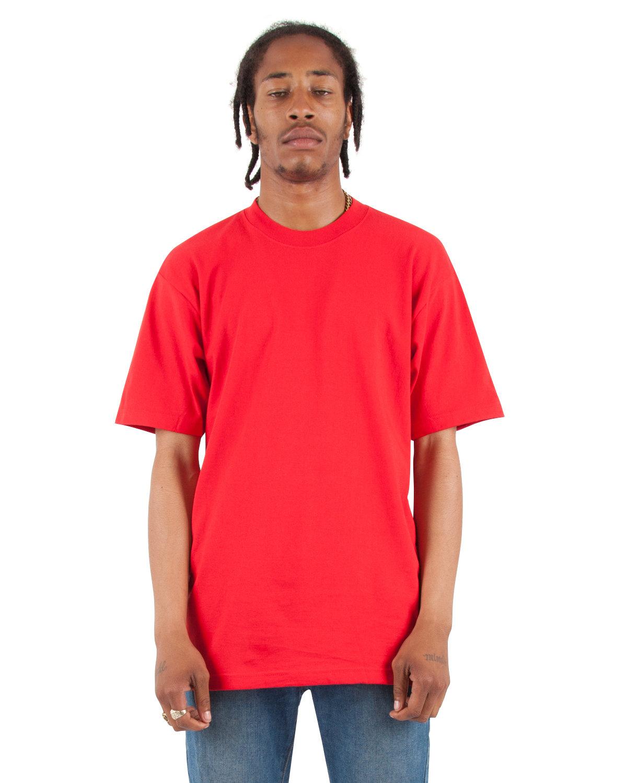 Shaka Wear Drop Ship Adult 7.5 oz., Max Heavyweight T-Shirt RED