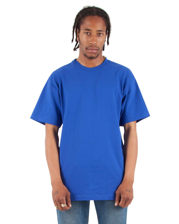 Shaka Wear Drop Ship Adult 7.5 oz., Max Heavyweight T-Shirt ROYAL
