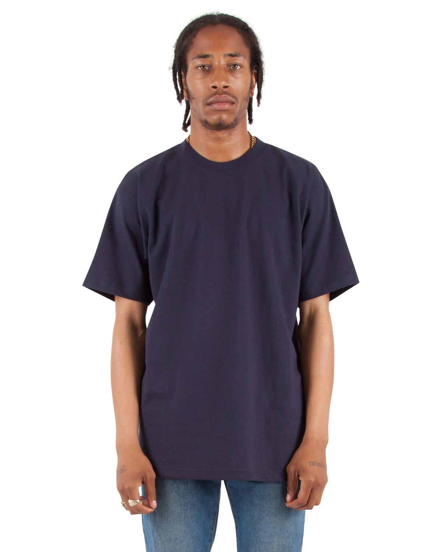 Shaka Wear Drop Ship Adult 7.5 oz., Max Heavyweight T-Shirt NAVY