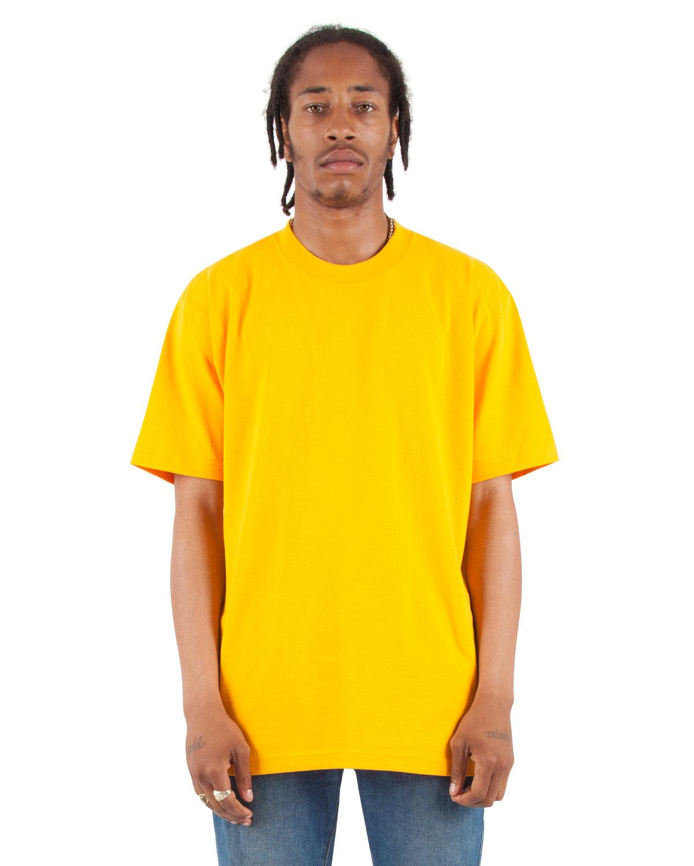 Shaka Wear Drop Ship Adult 7.5 oz., Max Heavyweight T-Shirt GOLD