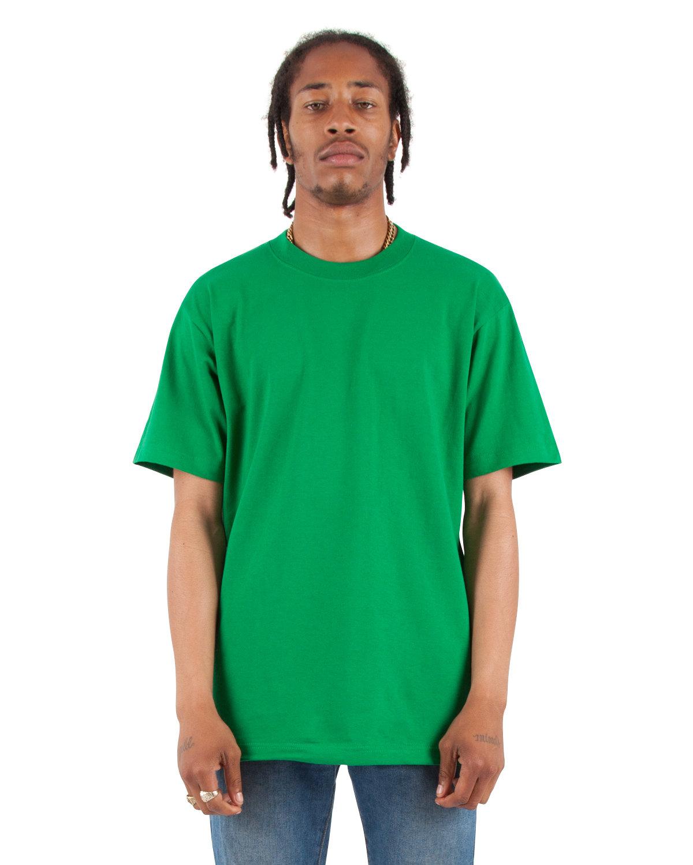 Shaka Wear Drop Ship Adult 7.5 oz., Max Heavyweight T-Shirt KELLY GREEN
