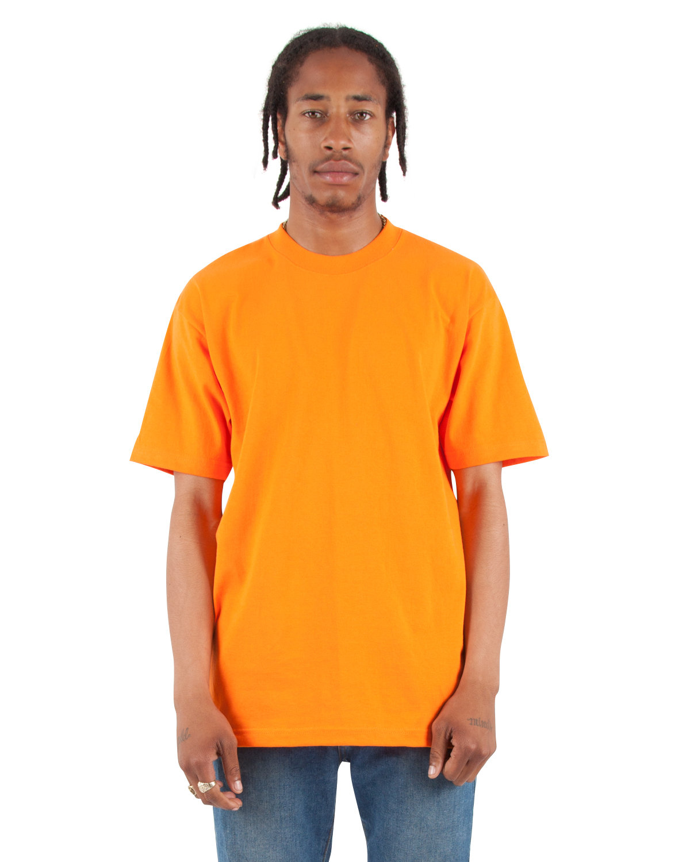 Shaka Wear Drop Ship Adult 7.5 oz., Max Heavyweight T-Shirt ORANGE