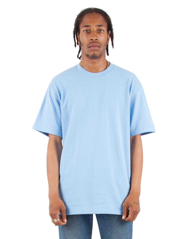 Shaka Wear Drop Ship Adult 7.5 oz., Max Heavyweight T-Shirt SKY BLUE