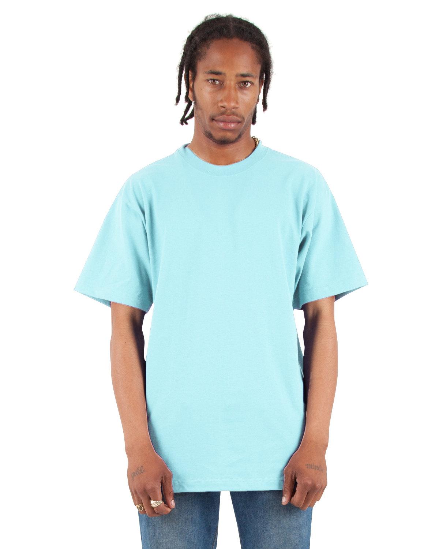 Shaka Wear Drop Ship Adult 7.5 oz., Max Heavyweight T-Shirt POWDER BLUE