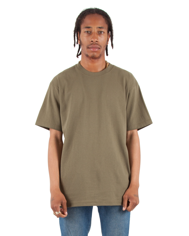 Shaka Wear Drop Ship Tall 7.5 oz., Max Heavyweight Short-Sleeve T-Shirt OLIVE