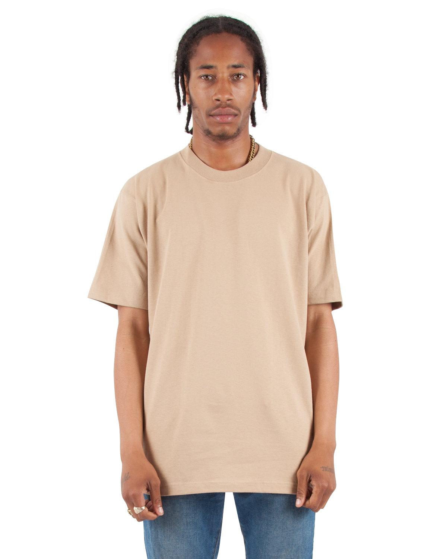 Shaka Wear Drop Ship Tall 7.5 oz., Max Heavyweight Short-Sleeve T-Shirt KHAKI