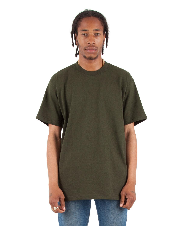 Shaka Wear Drop Ship Tall 7.5 oz., Max Heavyweight Short-Sleeve T-Shirt HUNTER GREEN