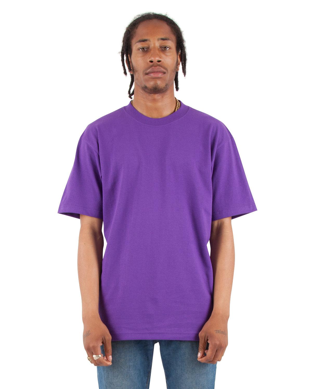 Shaka Wear Drop Ship Tall 7.5 oz., Max Heavyweight Short-Sleeve T-Shirt PURPLE