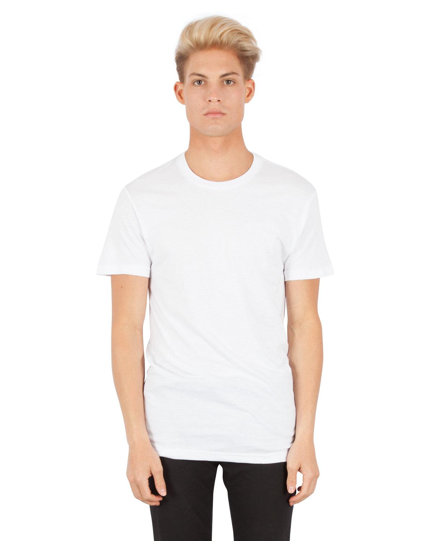 Simplex Apparel Drop Ship Men's 4.6 oz. Modal T-Shirt WHITE