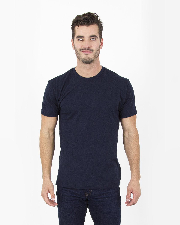 Simplex Apparel Drop Ship Men's 4.6 oz. Modal T-Shirt NAVY