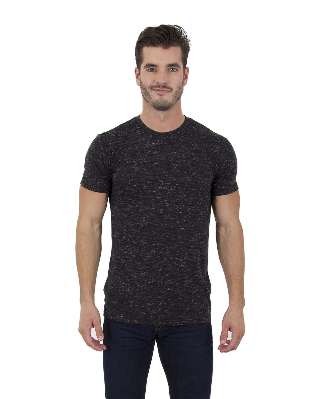 Simplex Apparel Drop Ship Men's 4.3 oz Caviar T-Shirt BLACK