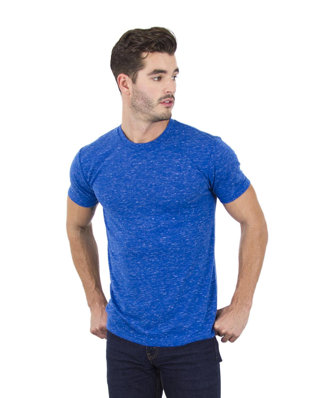 Simplex Apparel Drop Ship Men's 4.3 oz Caviar T-Shirt ROYAL