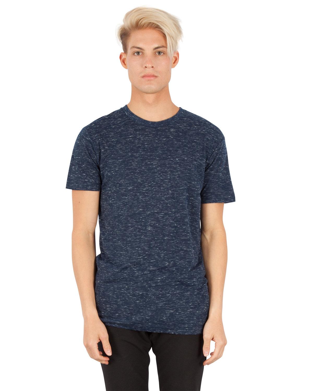Simplex Apparel Drop Ship Men's 4.3 oz Caviar T-Shirt NAVY