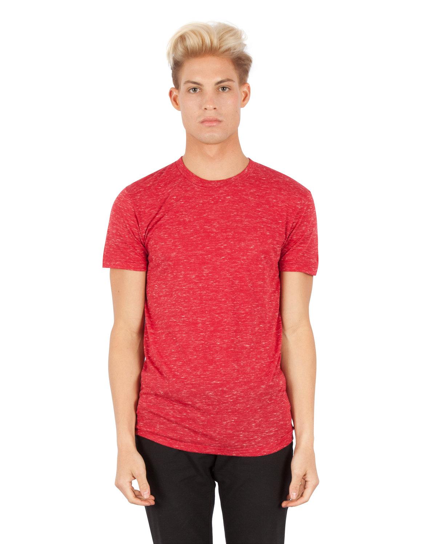 Simplex Apparel Drop Ship Men's 4.3 oz Caviar T-Shirt MAROON