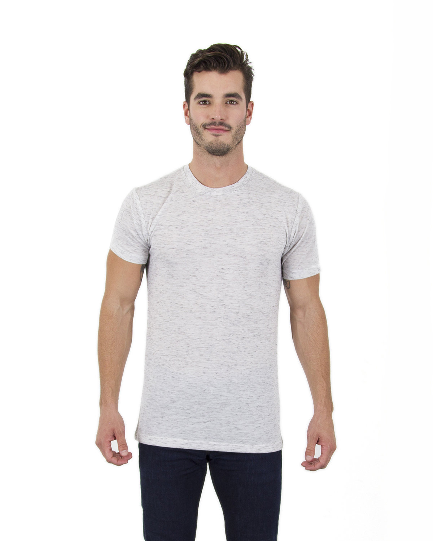 Simplex Apparel Drop Ship Men's 4.3 oz Caviar T-Shirt SPECKLED BLACK