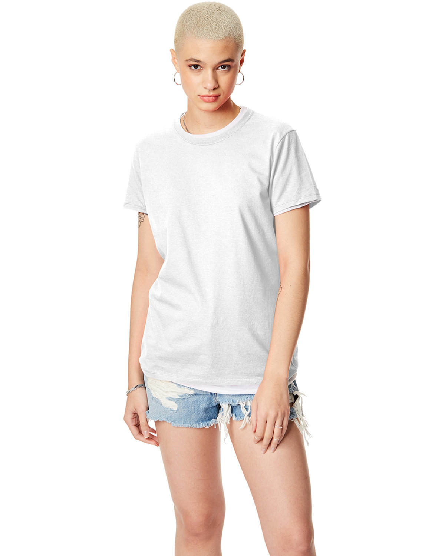Hanes Ladies' Nano-T® T-Shirt WHITE