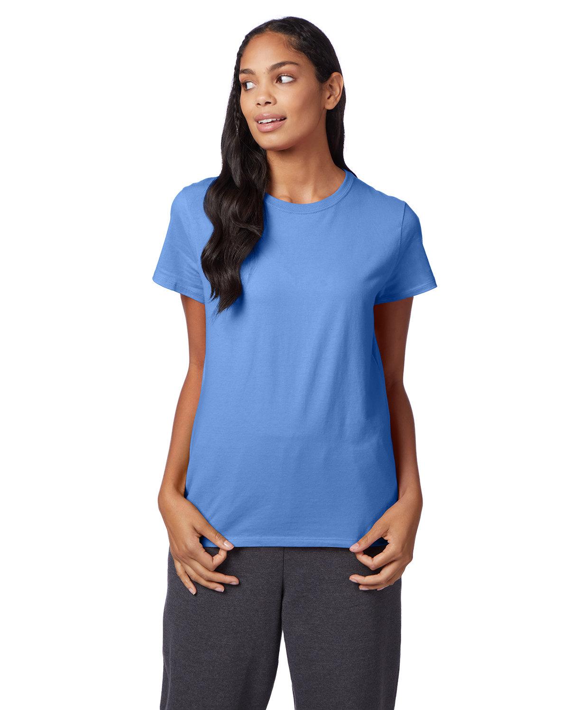 Hanes Ladies' Nano-T® T-Shirt CAROLINA BLUE