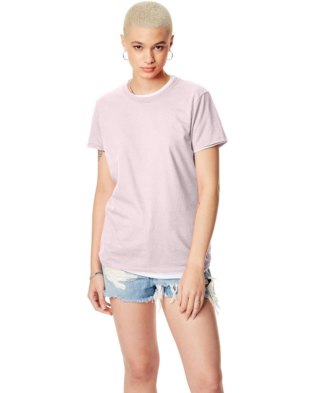 Hanes Ladies' Nano-T® T-Shirt PALE PINK