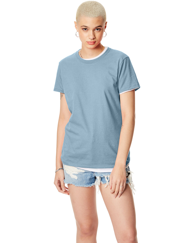 Hanes Ladies' Nano-T® T-Shirt LIGHT BLUE