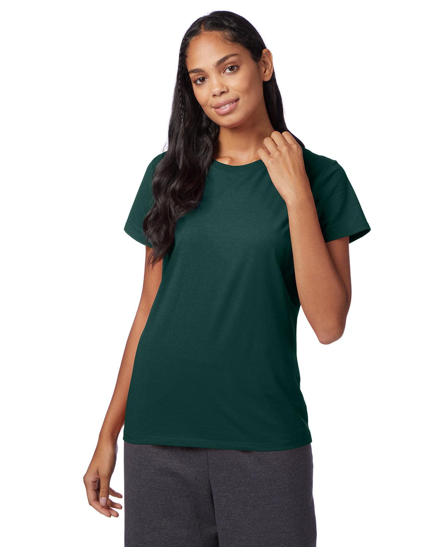 Hanes Ladies' Nano-T® T-Shirt DEEP FOREST