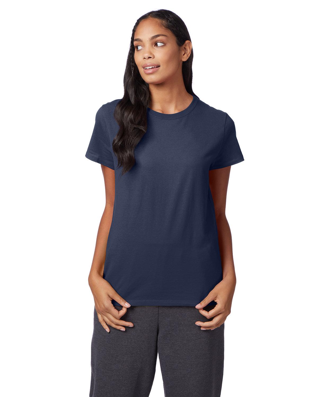 Hanes Ladies' Nano-T® T-Shirt NAVY