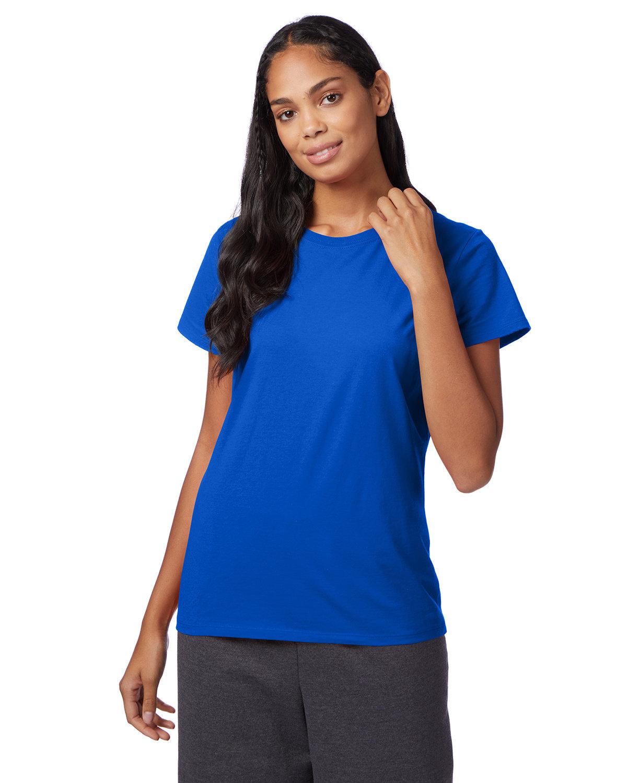 Hanes Ladies' Nano-T® T-Shirt DEEP ROYAL