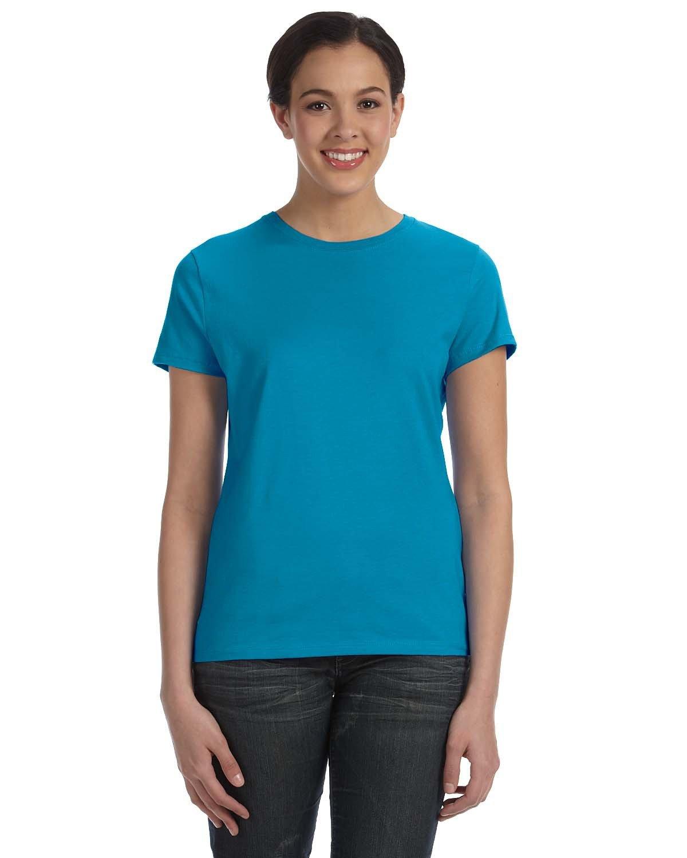 Hanes Ladies' Nano-T® T-Shirt TEAL