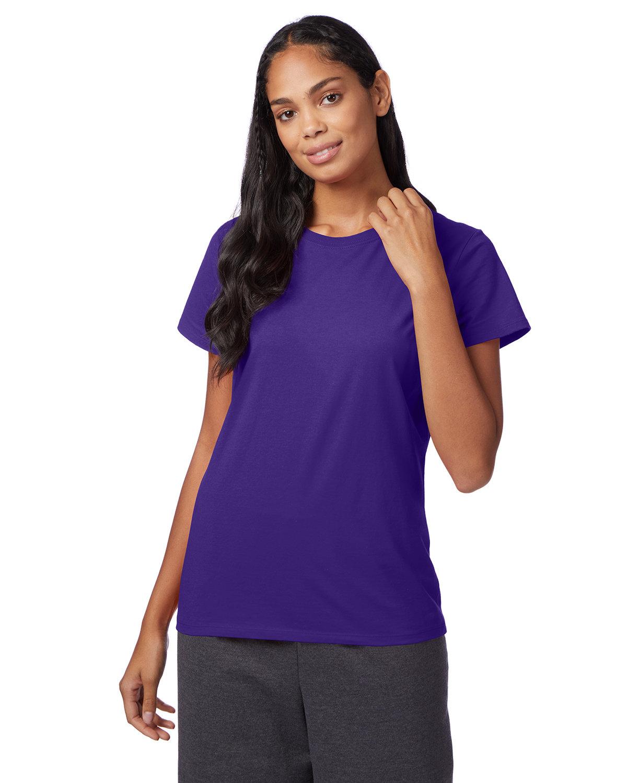 Hanes Ladies' Nano-T® T-Shirt PURPLE