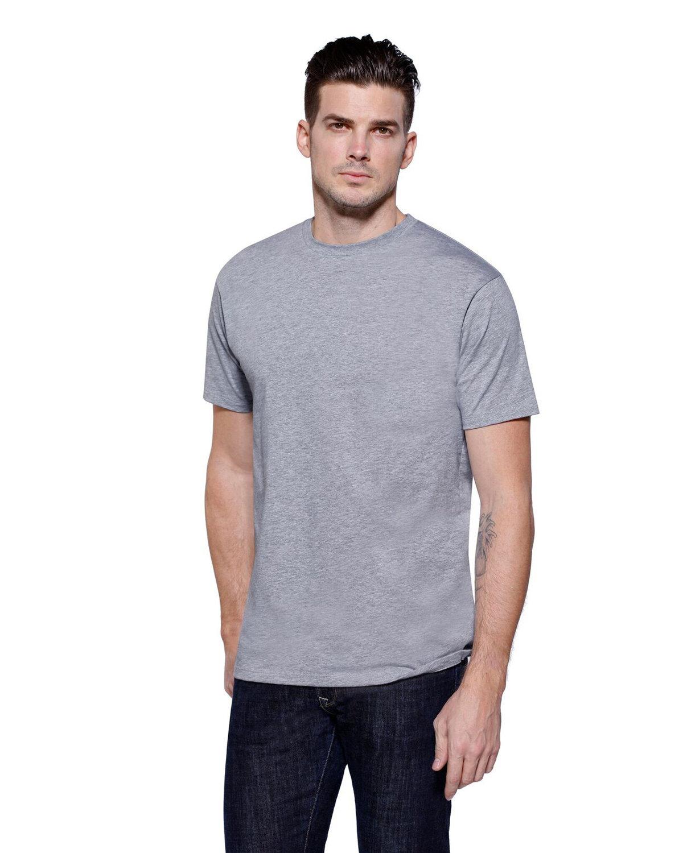 StarTee Drop Ship Men's CVC Crew Neck T-shirt HEATHER GREY
