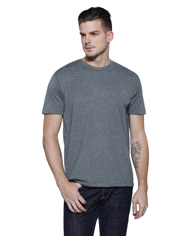 StarTee Drop Ship Men's CVC Crew Neck T-shirt TITANIUM HEATHER
