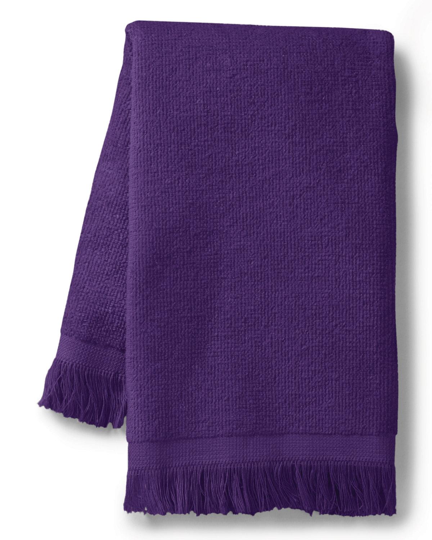 Towels Plus Fringed SpiritTowel PURPLE