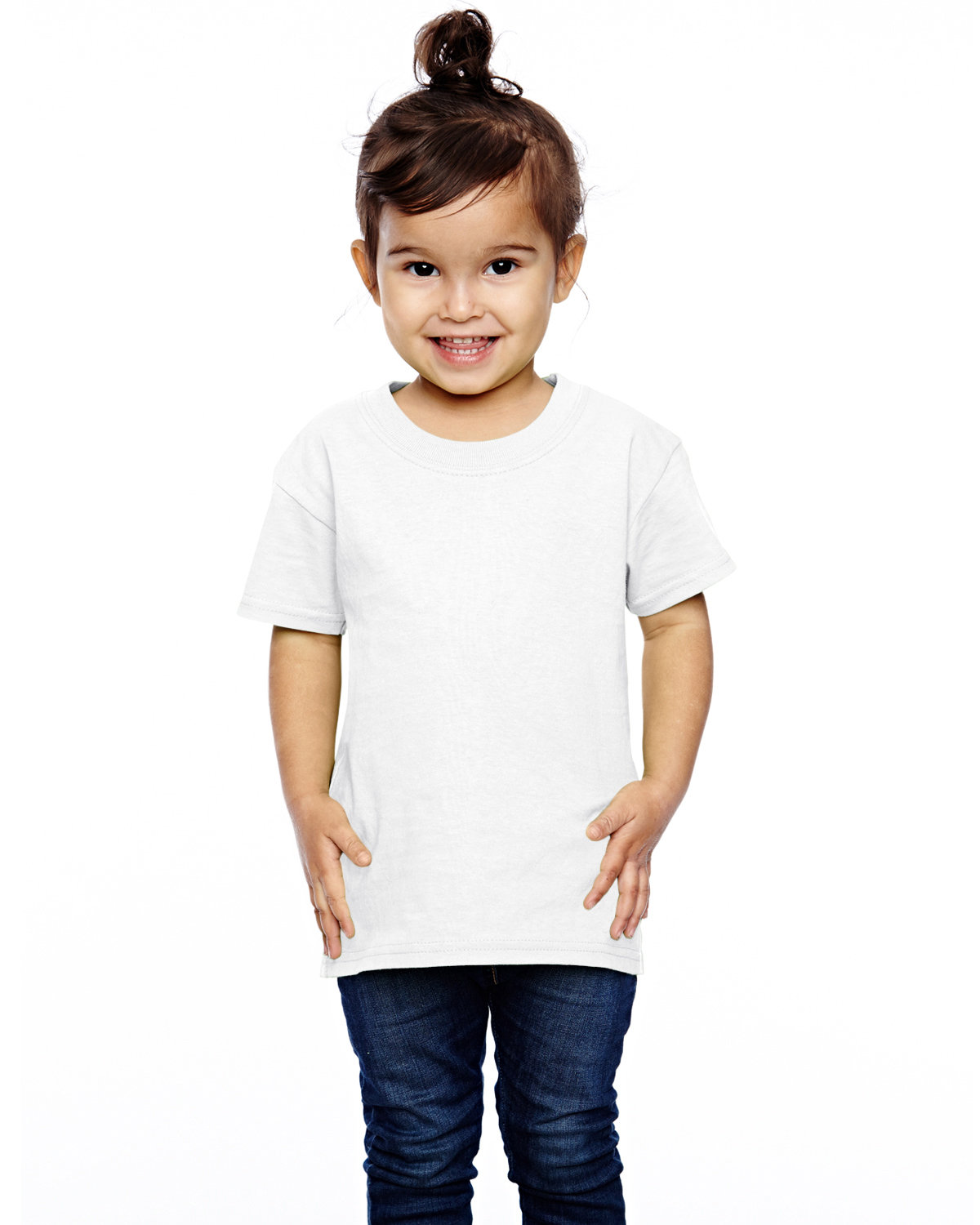 Fruit of the Loom Toddler HD Cotton™ T-Shirt WHITE