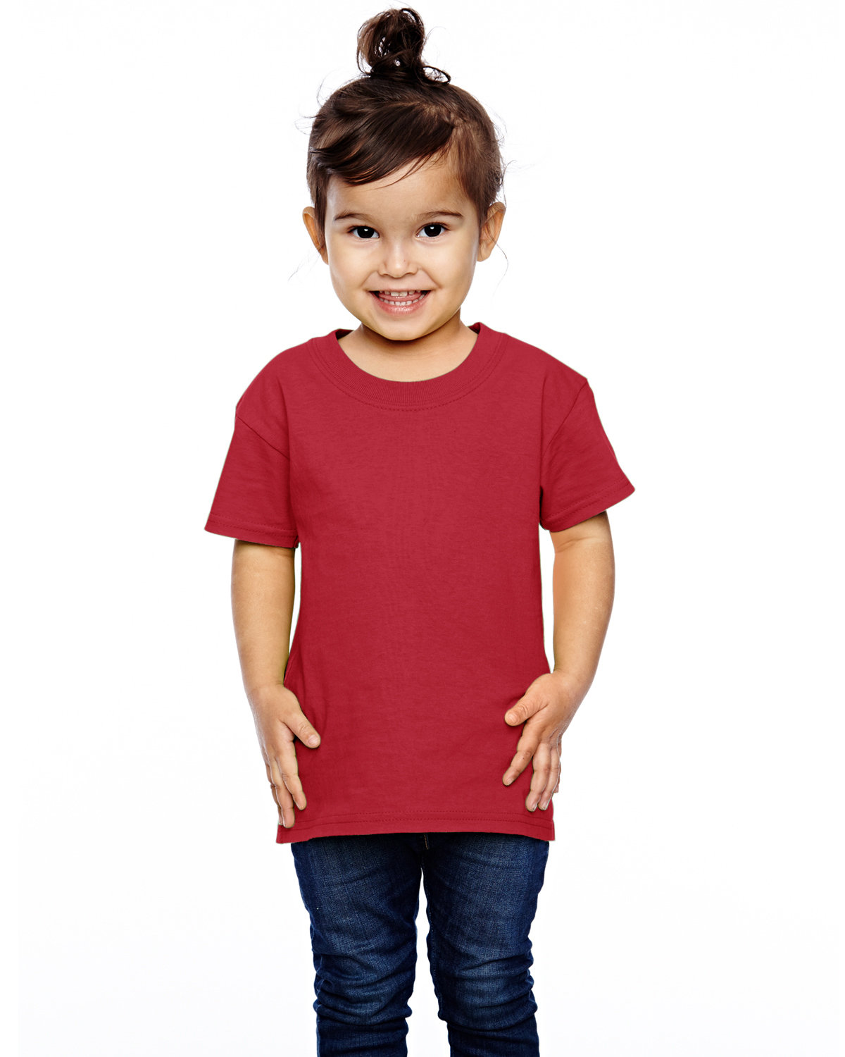 Fruit of the Loom Toddler HD Cotton™ T-Shirt TRUE RED